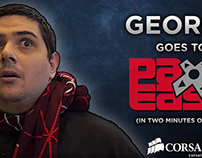 George goes to Pax East