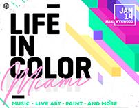 LIC Miami - Website & Main Artwork