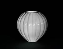 Montgolfière vase