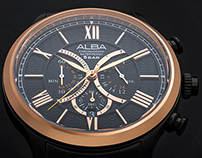 Alba wrist watch - Product photography