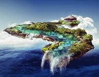 Floating Ecuadorian Islands