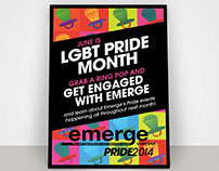Viacom Employee Group Pride 2014 Poster