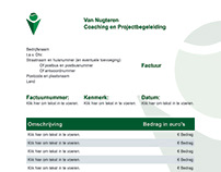 Factuur, offerte, VNCP