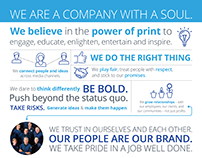 Corporate: Path to Proud Infographic