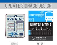 Update Signage Design