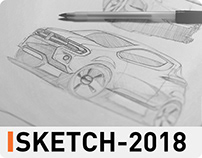 Sketch Sessions 2018 Vehicles