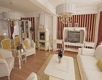 Casa clasica de lux Brasov - Design interior