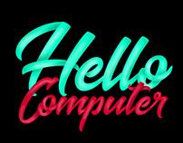 Hellocomputer Typography