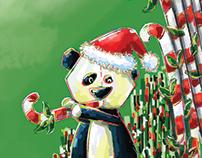 X'mas panda