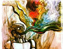 """Running Parts"" Series - RedBull House of Art - Round 8"