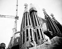 Catedral de Barcelona y La Sagrada Familia