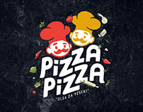 PIZZA PIZZA - BRANDING DESIGN