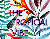 The Tropical Vibe - Free Watercolor Elements