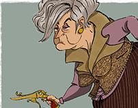 Steampunk old Lady