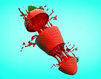 3D strawberry modeling