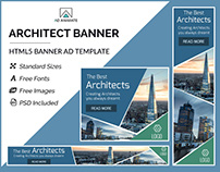Architect Banner- HTML5 Ad Templates