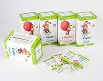 MEGAFYT ČAJDA: tea packaging for kids