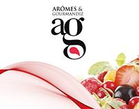 ARÔMES & GOURMANDIZ - IDENTITE GRAPHIQUE ET PACKAGING