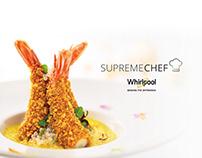 Whirlpool | Supreme Chef Landing page