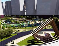 Landscape of Smouha skyline Project