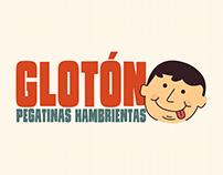 Glotón - Pegatinas Hambrientas