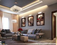 HSM - Livingroom + Kitchen