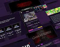 VISIO - Conception d'une application de streaming