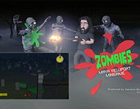 Zombies - Maya Viewport Minigame