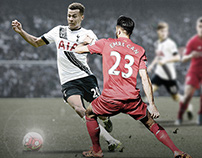 UK Premier League match Promotion Tottenham vs Liverpoo