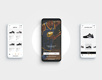 Nike - mobile concept