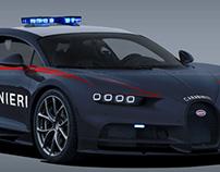 Bugatti Chiron Carabinieri