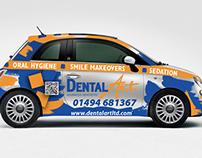 Dental Art - Car wrap