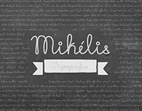 Tipografia Mikélis - Tipografia Manuscrita