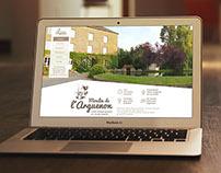 Identité visuelle et webdesign - Moulin de l'arguenon