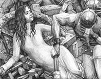 Illustration- The Unbroken Wheel