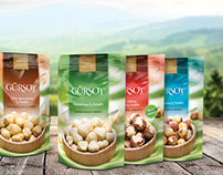 Hazelnut package design.