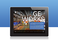 GE Annual Report iPad app