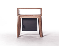poet - bedside table with a twist