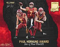 Joel Lanning - Hornung Award Finalist