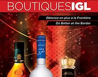 Brochure Hors Taxes des Boutiques IGL