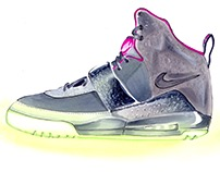 Sneaker Illustrations