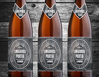 Limfjordsporter liquorice design for Thisted Brewery