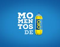 Social Media Advertising - Gaseosa ORO