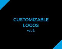 Customizable logos for sale vol. 9.