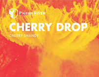 Pigeon River Cherry Drop Identity