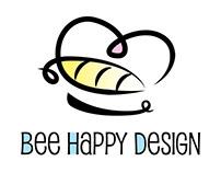 Bee Happy Design Logo redesign