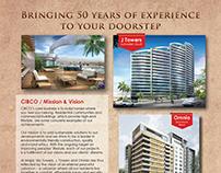 CIBCO Real Estate - Magazine ads