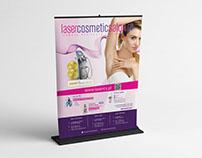 Lasercosmeticsalon.pl promotion materials