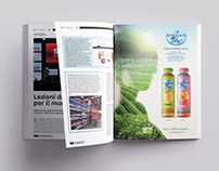 San Benedetto Thè Bio/Organic tea Advertising Campaign