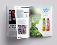 San Benedetto Thè Bio/Organic tea Advertising Campaign